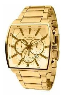 Relógio Technos Masculino Dourado Js25al/4x