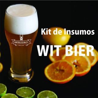 Kit De Insumos Cerveja Artesanal Estilo Witbier 20 Litros