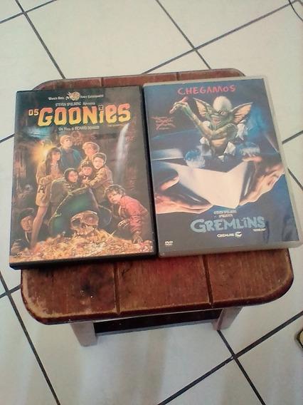 Dvds Gremlins E Os Goonies 2 Clássicos Dos Anos 80
