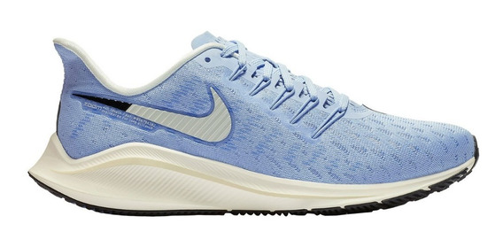 Tênis Nike Air Zoom Vomero 14 Corrida Treino Original Azul