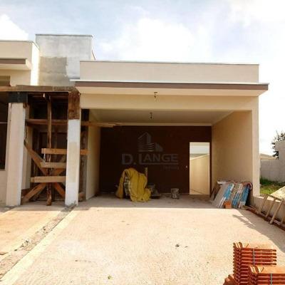 Casa Com 4 Dormitórios À Venda, 172 M² Por R$ 585.000 - Condomínio Campos Do Conde Ii - Paulínia/sp - Ca13032