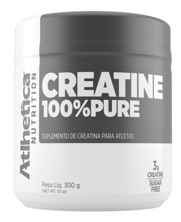 Creatine 100% Pure 300g Atlhetica