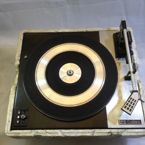 Toca Discos Vintage - Galileo - Mecanismo Completo