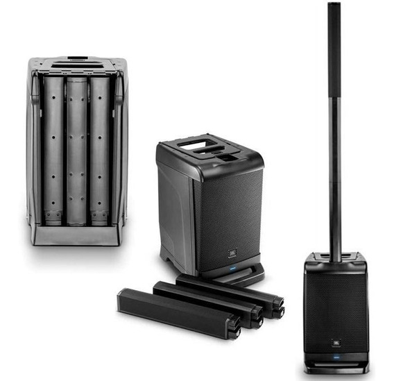 Caixa Ativa Portátil Eon One Jbl Bluetooth Sistema De Pa