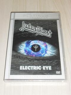 Dvd Judas Priest - Electric Eye (inglês Show+clips) Lacrado