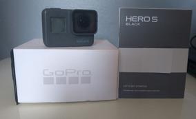 Gopro Hero 5 Black + Cartão 32gb E Golpole