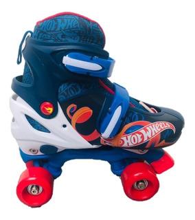 Patines Niño Hotwheels Roller Ajustables T371104 22-25cm