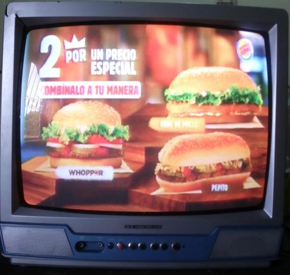 Televisor Cyberlux 20 Pulgadas Tv-20cx Para Repuestos