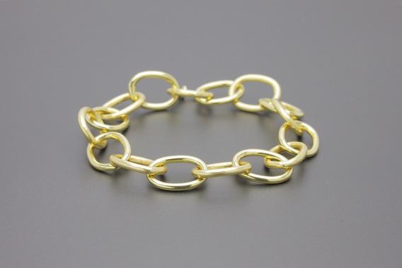 |1515| Pulseira Em Ouro Amarelo 18k