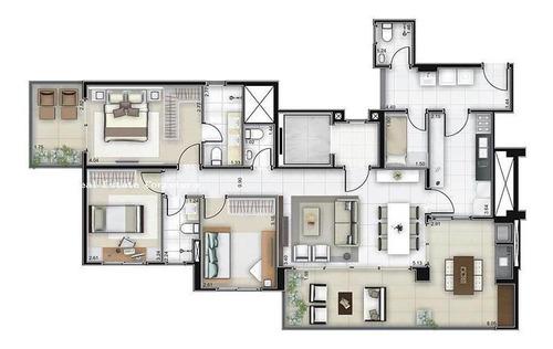 Imagem 1 de 12 de Apartamento Para Venda Em São Paulo, Consolação, 3 Dormitórios, 3 Suítes, 4 Banheiros, 2 Vagas - 2140_2-671802