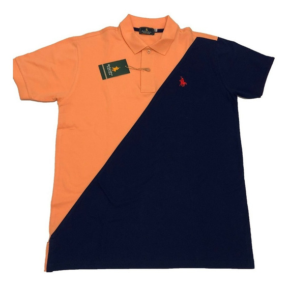 Playera Polo Club En Bloque.