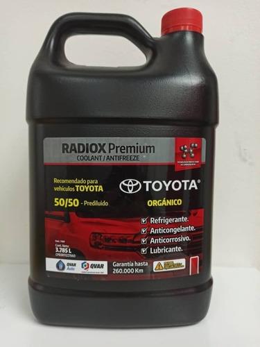 Refrigerante Toyota Rojo Q-var Radiox