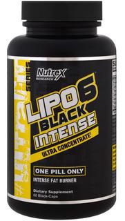 Lipo 6 Black Intense Uc Nutrex 60cáps- Importado