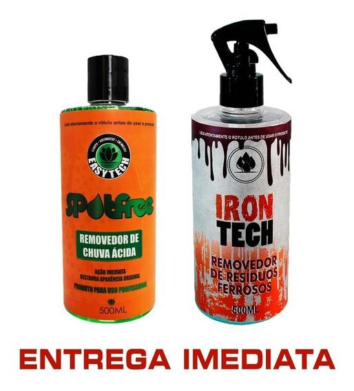 Removedor De Chuva Ácida + Descontaminante Ferroso Easytech