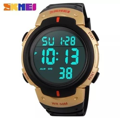 Relógio Masculino Skimei 1068 Original Digital Frete Gratis