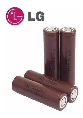 2x Bateria Lg Hg2 3000mah 20a 3,7v Mod 18650