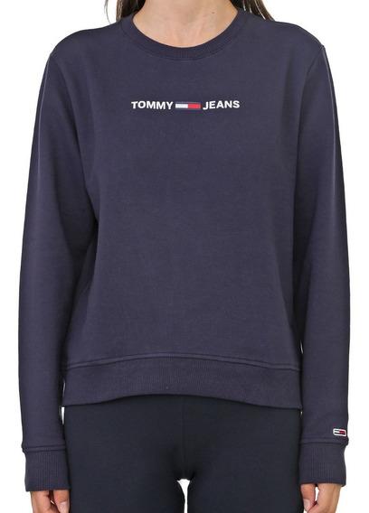 Moletom Tommy Jeans Feminino Essential Logo