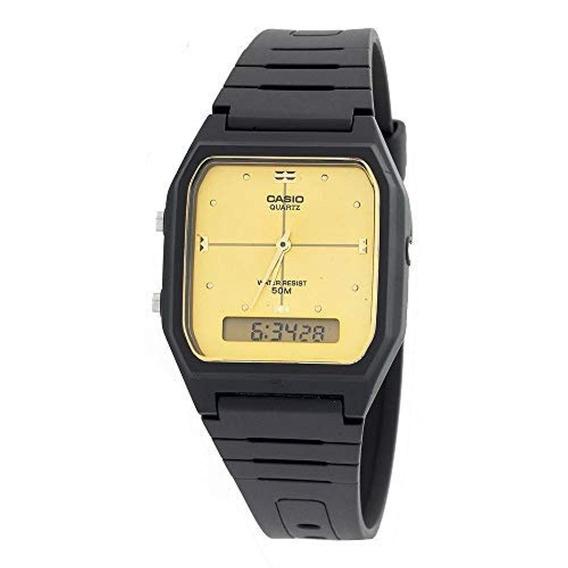 Casio Reloj Quartz Resin Sport, Color: Negro