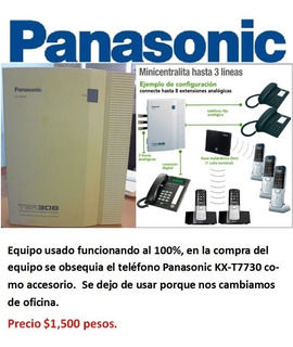 Panasonic Tea308 Conmutador