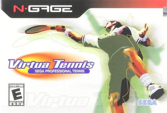 Game N Gage Virtua Tennis Original Novo
