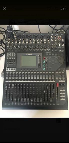 Mesa De Som Yamaha 01 V I Ja Com Ada Fazendo 24 Canais