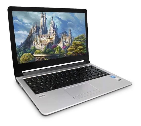 Laptop Intel Dual Ssd 120gb Ram 4gb W10 Alpha Hdmi Vorago