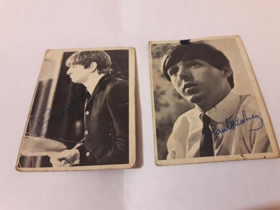 Tarjetas De Colección 1964 The Beatle, Mccartney Y Ringo.