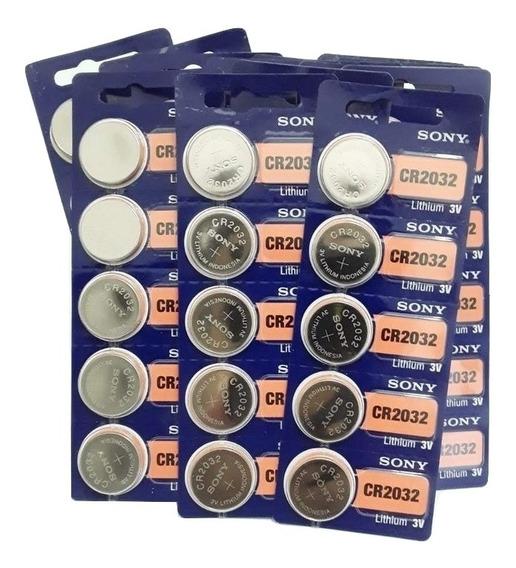 Bateria Sony Cr 2032 Original Lithium 3v Ótimo Informática