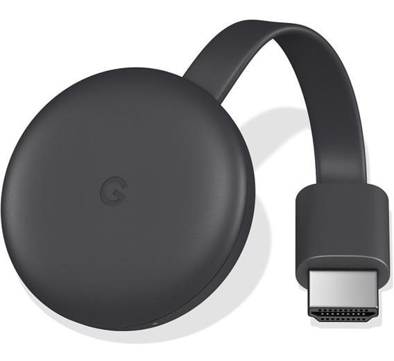 Chromecast 3 Google Hdmi Edição 2019 Cromecast Original