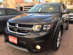 Dodge Journey Rt 7 Pasajeros Gris 2016 Hangar