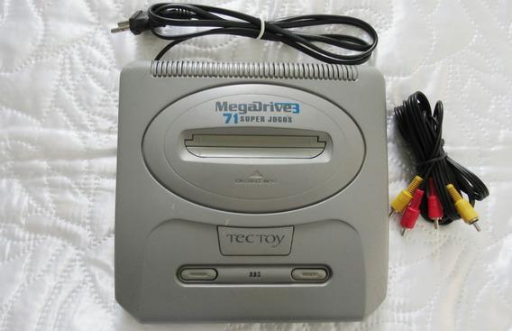 Super Mega Drive 3 * 71 Jogos Na Memória * Leia Descrição