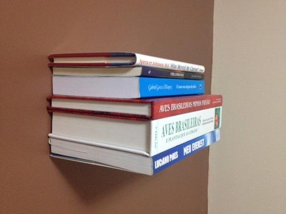 Prateleira Invisível Para Livros Kit 5 Pçs