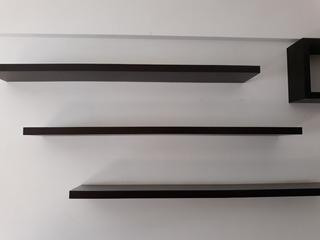Estante Repisa Flotante Mensula Invisible 80x25 Premium
