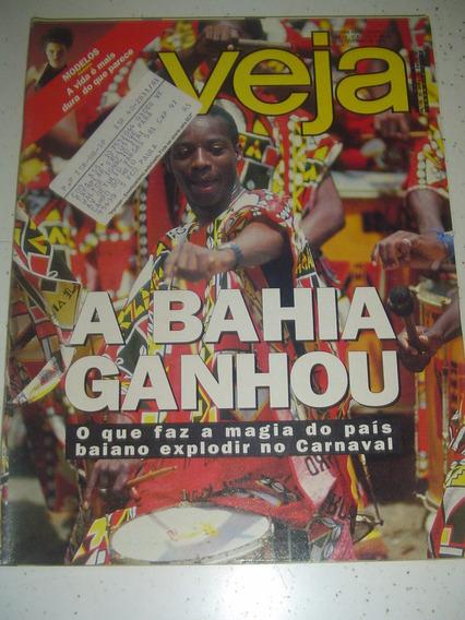 Revista Veja 1276 Arósio Luana Th Collor Carnaval Bahia 1993