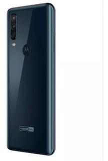 Celular Motorola One Action Azul Oscuro 4 Gbram+128 Gb