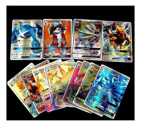Lote 11 Cartas Pokémon : 10 Gx + 1 Mega Ex