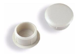 Tapa Furo Interno Branco 10 Mm Pacote Com 100 C589