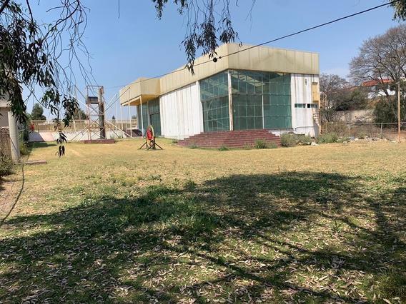 Renta O Venta Terreno Con Bodega Jilotzingo, Atras Chiluca