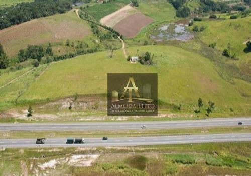 Excelente Área Com 94.208 M²  Às Margens Da Rodovia Ayrton Senna - Mogi Das Cruzes/sp - Confira! - Ar0081