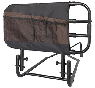 Stander Ez Adjust Y Pivoting Adult Home Bed Railswing Down A