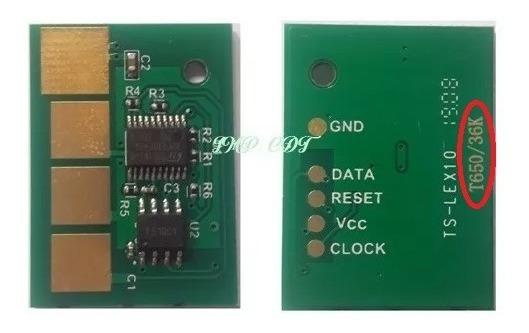 Chip Lexmark T654/ X654 T656/ X656 36k