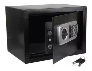 Caja Fuerte Reforzada Uso Con Llave O Combinacion Digital