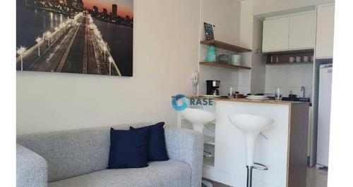Studio Com 1 Dormitório Para Alugar, 33 M² Por R$ 4.600,00/mês - Chácara Santo Antônio - São Paulo/sp - St0075
