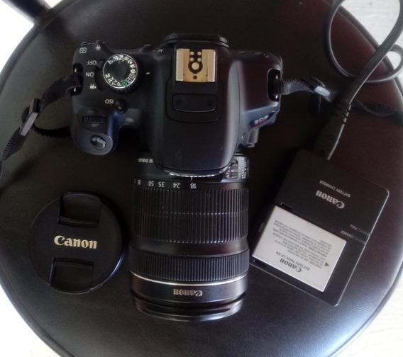 R$ 1.450 Câmera Canon T4i + Lente 18-135 - Original