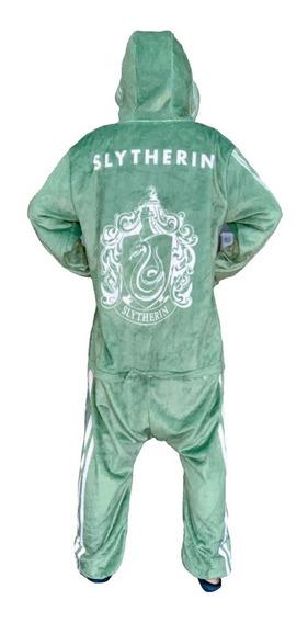 Macacão Pijama Kigurimi Harry Potter Sonserina M Zc 10071152