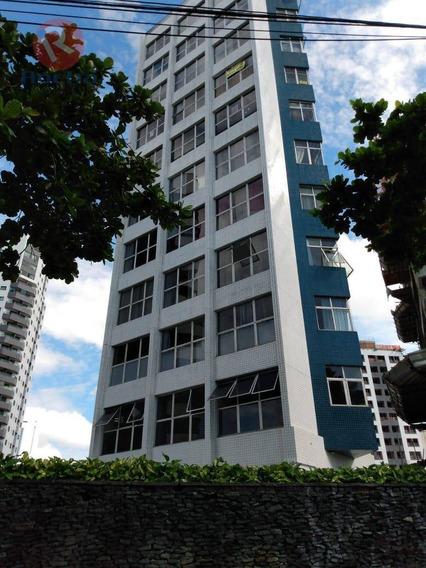 Apartamento Com 3 Dormitórios Para Alugar, 168 M² Por R$ 3.500/mês - Pina - Recife/pe - Ap10084