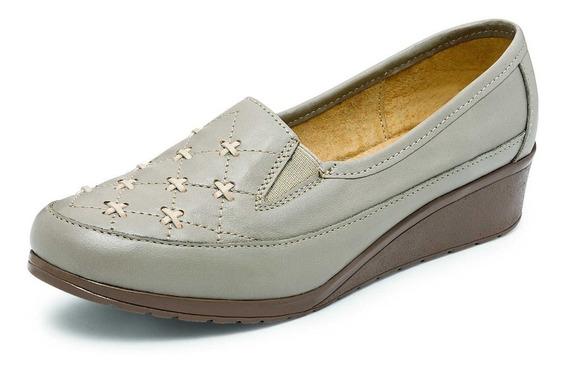Zapato De Descanso Claudia Carrera Modelo 855 Color Hielo
