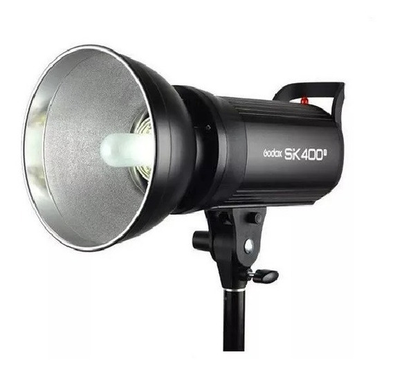 Flash Tocha Estudio Profissional Sk400 Ii Godox
