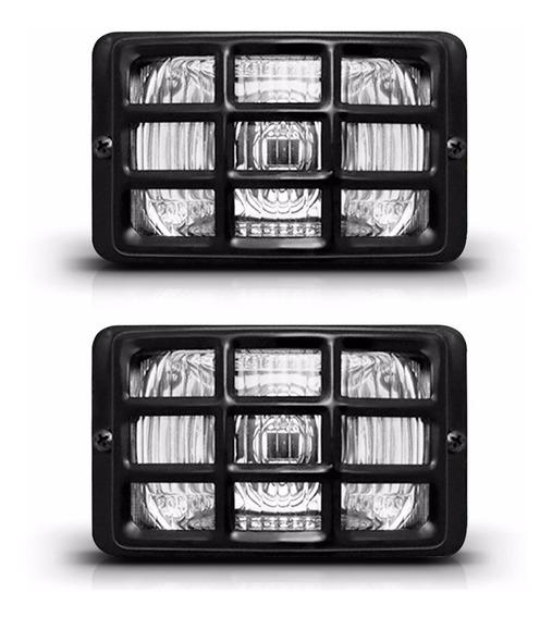 Par Farol Milha Para Adaptação Jeep Fusca Corcel D20 F1000