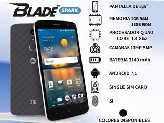 Zte Blade Spark (4g)2gb+16gb Liberado Para Movistar-movilnet